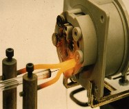 Glow-wire test of end-products according to IEC 60695-2-11 (GWT:  Glow-Wire-Temperature)